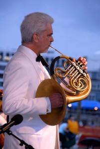 James Mosher, 1st horn of the HFO